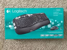 Logitec Wireless MK550 Keyboard & mouse set retail